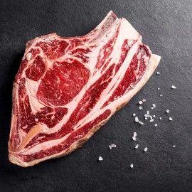 Bœuf Salers - Côte à l'os, environ 950g