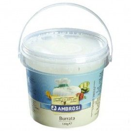 Mozzarella Burrata 18% MG 120 g Ambrosi