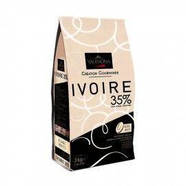 IVOIRE 35%, blanc, sac de 3kg