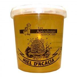 Miel d'acacia en pot 1kg Ales Apiculteurs Associés