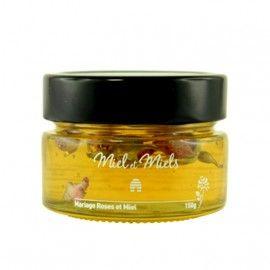 Mariage de miel et rose de Damas 150 g