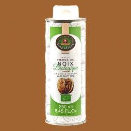 Huile vierge de noix biologique 250 ml Huilerie de Lapalisse