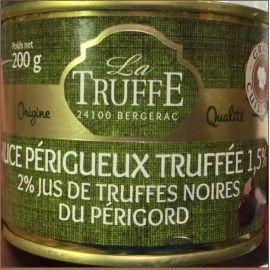 Sauce Périgueux truffée
