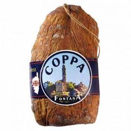 Coppa corse 1.2kg environ Charcuterie Fontana