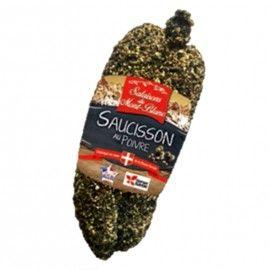 Saucisson au poivre 200 g Salaisons du Mont-Blanc