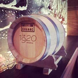 Bourgoin Cognac - BARRIQUE VIDE CHÊNE 10L, EX-COGNAC XO 1998