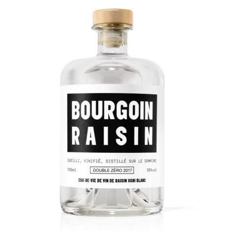 Bourgoin Cognac - Blanche de Cognac, Raisin, 38%vol.