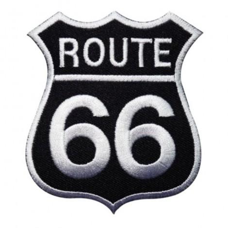 ROUTE 66 / Badge en tissus à coudre