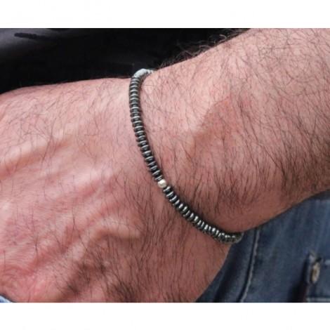 Tiago / Bracelet Homme en Hématite