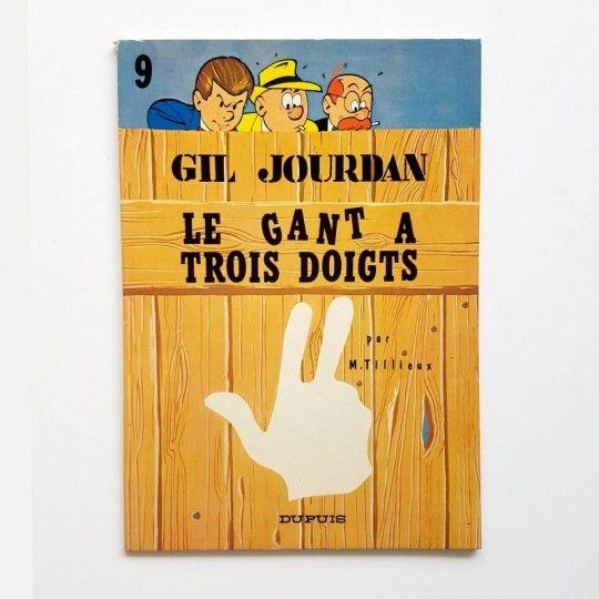 GIL JOURDAN LE GANT A TROIS DOIGTS