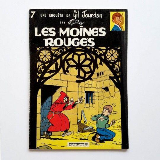 GIL JOURDAN LES MOINES ROUGES