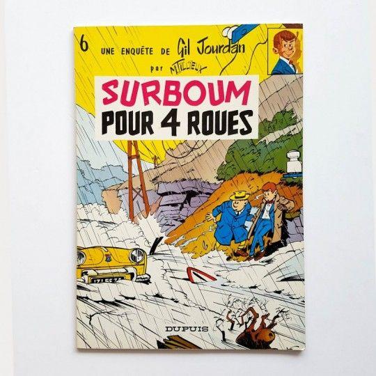 GIL JOURDAN SURBOUM POUR 4 ROUES