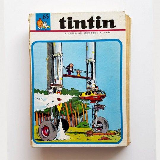 TINTIN LE JOURNAL N°65