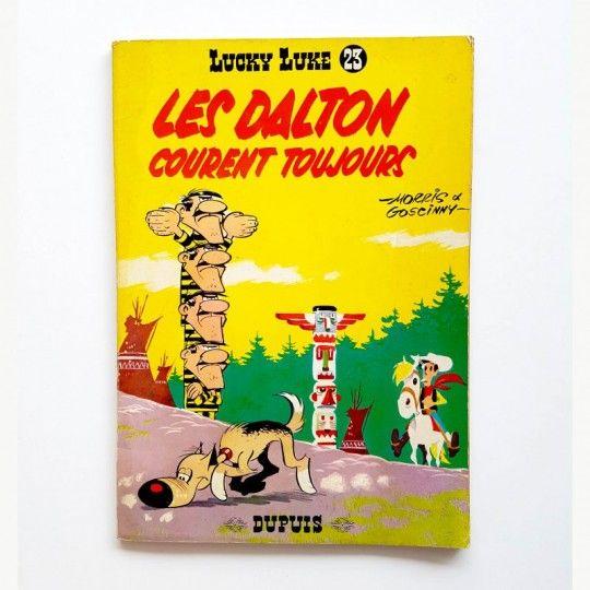 LUCKY LUKE LES DALTON COURENT TOUJOURS