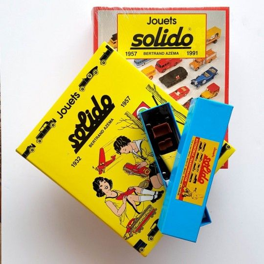 JOUETS SOLIDO 1932 1957