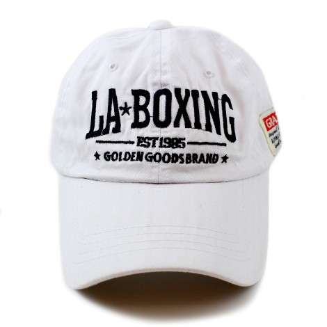 Casquette coton blanc Los Angeles Boxing club