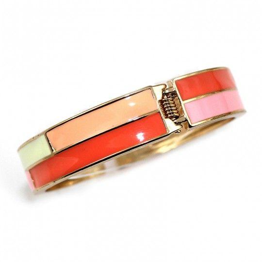 Bracelet émail multicolore