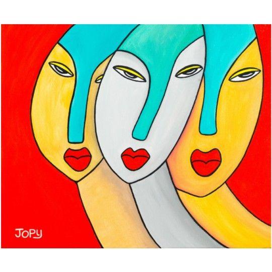 Jopy - The Sisters 2017 - Peinture