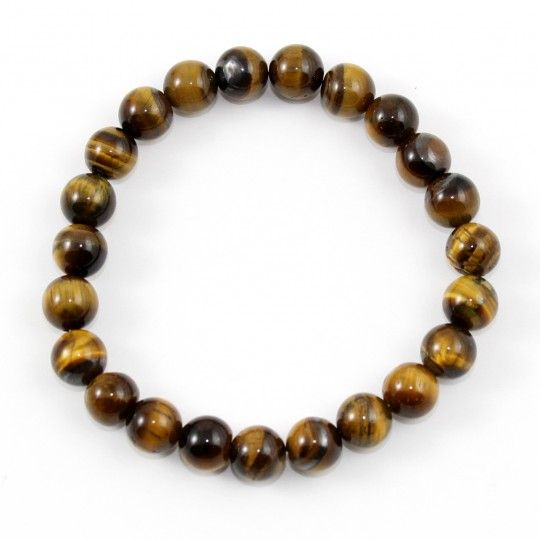 Bracelet en perles Oeil de Tigre
