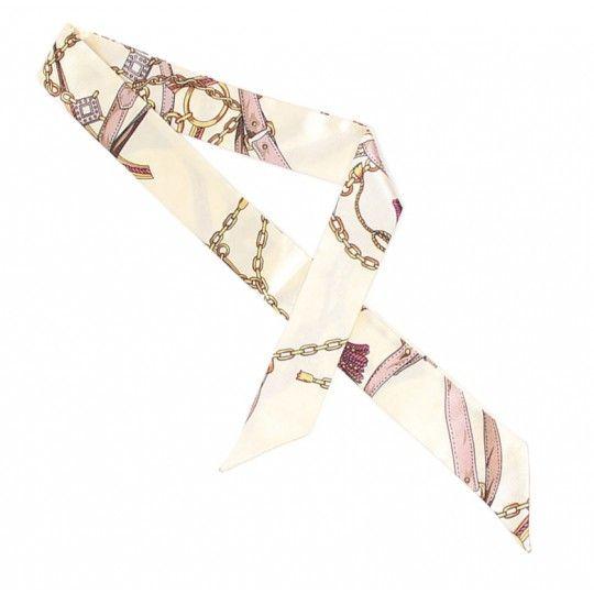 Foulard de sac blanc