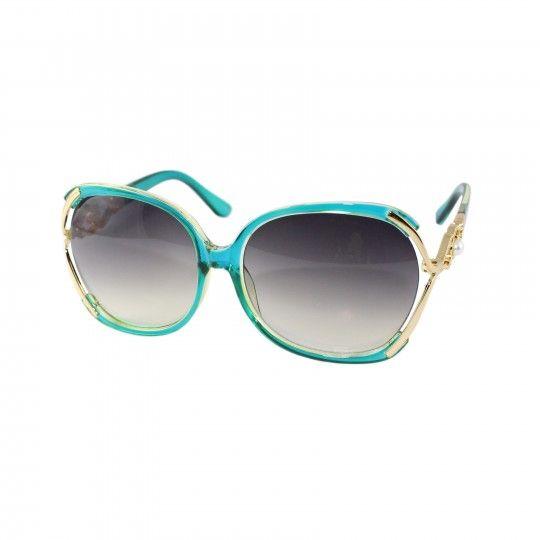 Lunettes de soleil Femme - Fumé bleu