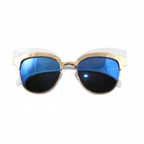 Lunettes de soleil Femme - Miroir bleu