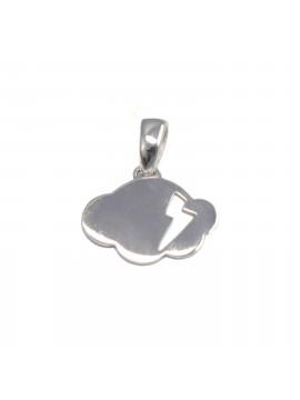 Pendentif, médaille collection «Aurore» Or blanc