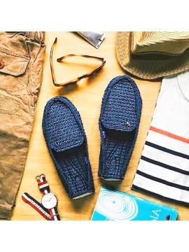 Chaussures bleu mixte - Plage, mer et bateau - Le DD