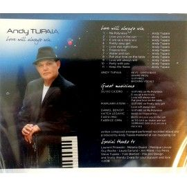 Andy TUPAIA CD Love Will Always Win