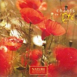 """Nature & Découverte - CD """"Les chants de l'été """""""