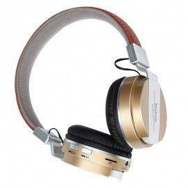 Foldable Wireless Bluetooth4.0 Stereo Music Headset Headphone Mic TF Card 3.5mm
