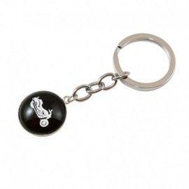 Porte clés noir moto