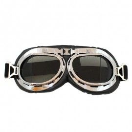 Lunettes de moto vintage - Optique fumé