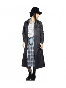 MANTEAU ELLEN BLUE