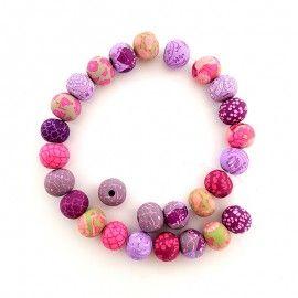 27 perles polymère