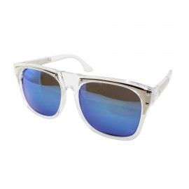 Lunettes de soleil optique couleur bleu