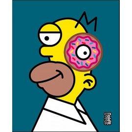 Cubic Homer Simpson