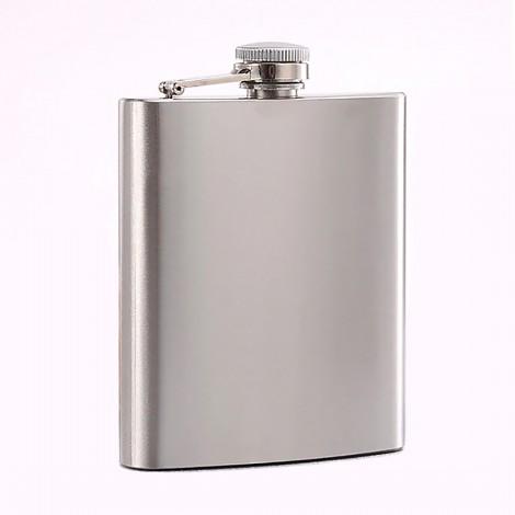 Flacon à alcool en acier inoxydable 7 oz