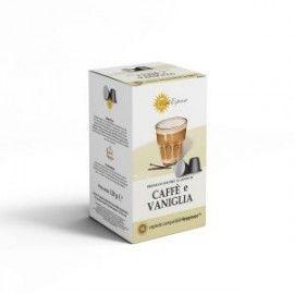 64 capsules de café vanille compatibles Nespresso