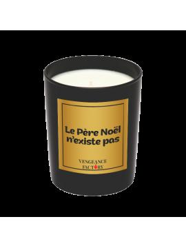 """Bougie """"Le Père Noël n'existe pas"""" - Parfum Encens et Epices"""