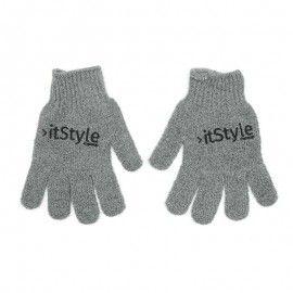 itStyle - Gants exfoliants - gris